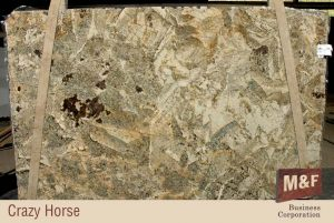 Crazy Horse Granite Slab - Exotic